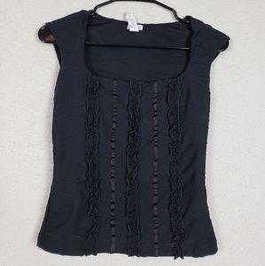 Xoxo cute black top size medium